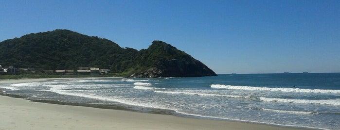 Praia da Saudade (Prainha) is one of Praias de São Francisco do Sul.