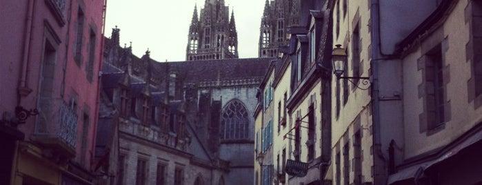Cathédrale Saint-Corentin is one of Bretagne.