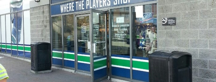 Canucks Team Store is one of Vancouver.