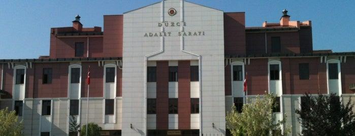 Düzce Adalet Sarayı is one of Özgür Yaşar'ın Kaydettiği Mekanlar.