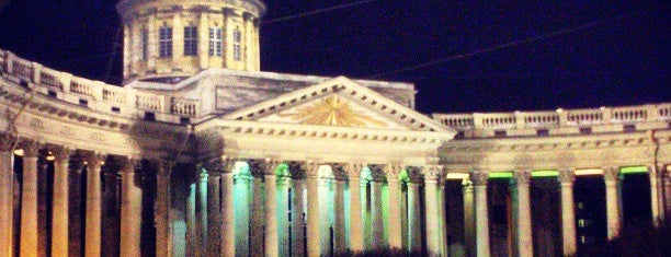 The Kazan Cathedral is one of Must visit in spb.