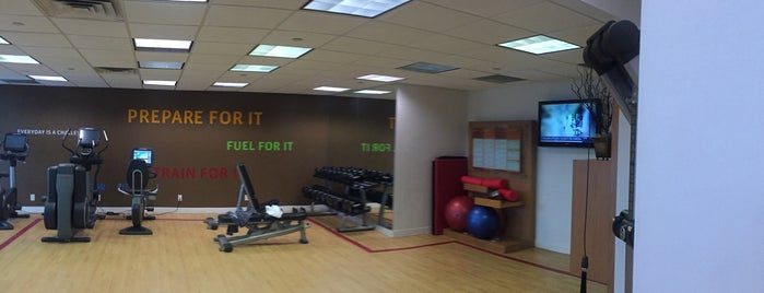 Sheraton Mahwah Fitness Center is one of Tempat yang Disukai Mario.