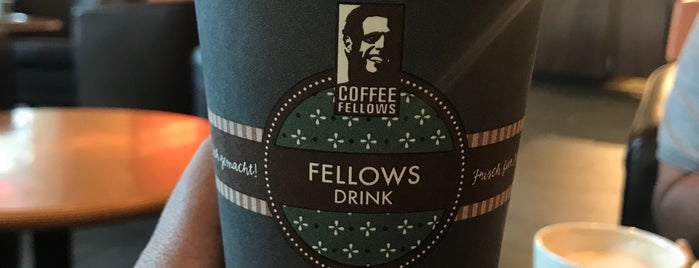 Coffee Fellows is one of Aubergine.