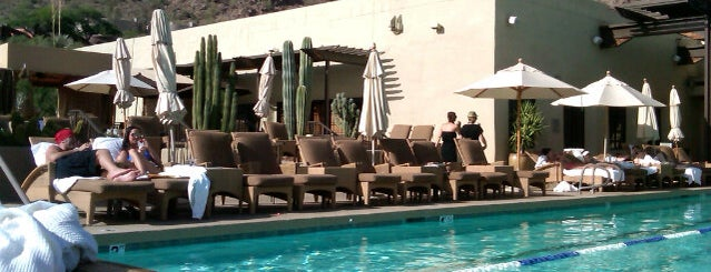 The Spa at Camelback Inn is one of AZ.