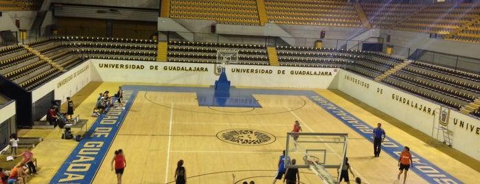 Coliseo Olímpico Universidad de Guadalajara is one of Allx 님이 좋아한 장소.