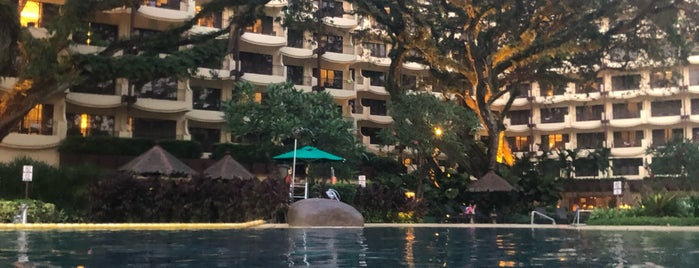 Shangri-La's Rasa Sayang Swimming Pool is one of Malaysia.