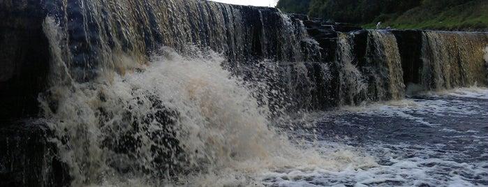Тосненский (Гертовский) водопад is one of Yulia 🐾: сохраненные места.