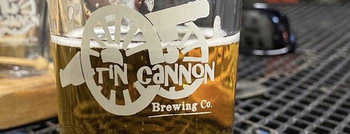 Tin Cannon Brewing Co is one of Adam'ın Kaydettiği Mekanlar.
