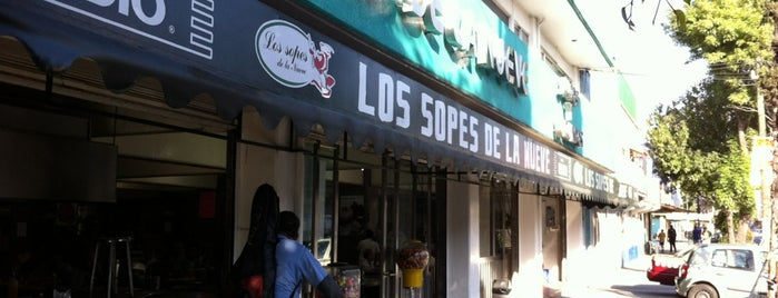 Los Sopes de la Nueve is one of CHILANGO 50-150 2014.