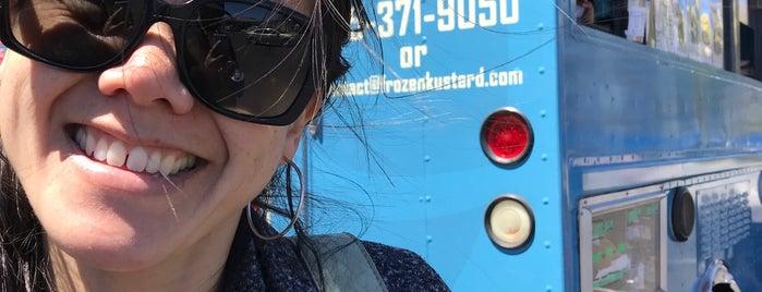 Frozen Kuhsterd Truck is one of Ice cream.