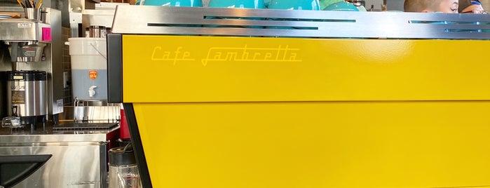 Cafe Lambretta is one of Arjun'un Beğendiği Mekanlar.