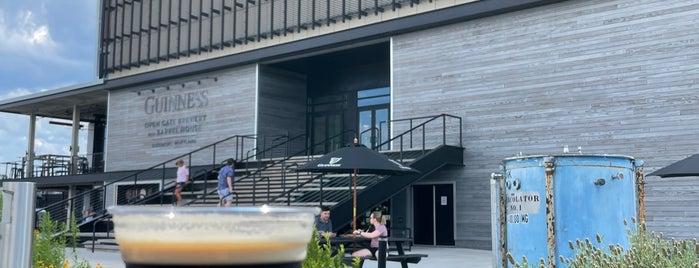 Guinness Open Gate Brewery & Barrel House is one of Gespeicherte Orte von Brent.