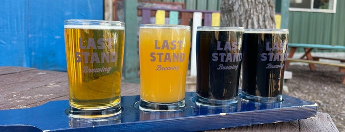 Last Stand Brewing Company is one of Austin.