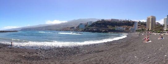 Playa Martiánez is one of Islas Canarias: Tenerife.