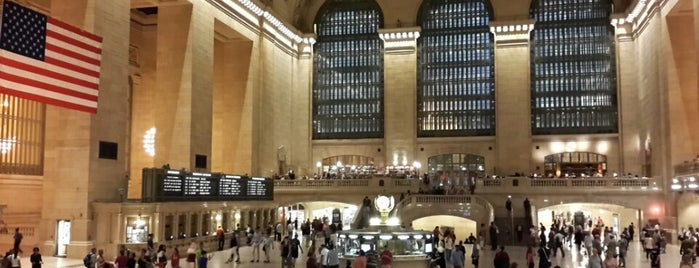 Grand Central Terminal is one of NYC Food, Drinks, Culture & Entertainment.