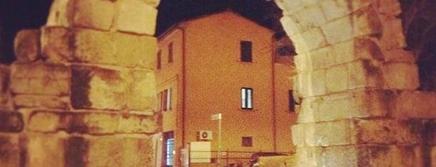 Porta Montanara is one of Rimini.