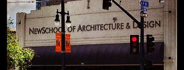 Newschool Of Architecture And Design is one of SD.
