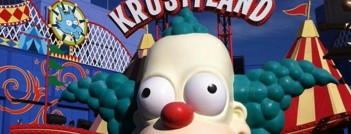 Krustyland is one of L. A..