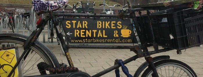 Star Bikes is one of MrBoroughs | Top Spots | Amsterdam.