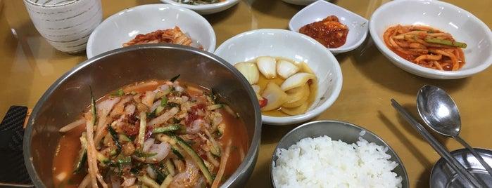 삼보식당 is one of 수요미식회.