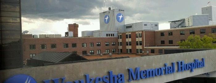 Waukesha Memorial Hospital is one of Gespeicherte Orte von Jennifer.