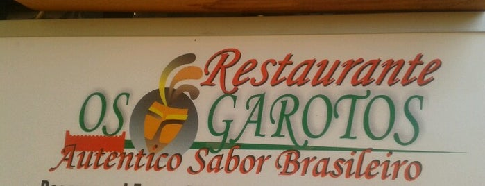 Restaurant os  Garotos is one of Lieux sauvegardés par Luis.