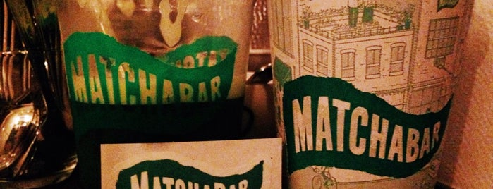 MatchaBar is one of NEW YORK CITY: cafes.