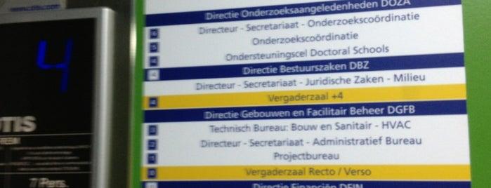 Rectoraat UGent is one of UGent.