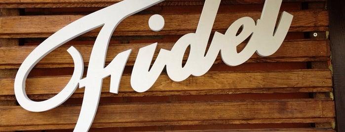Fidel Cafe Bar is one of สถานที่ที่บันทึกไว้ของ Emre.