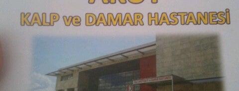 Akut Kalp ve Damar Hastanesi is one of Peter 님이 좋아한 장소.