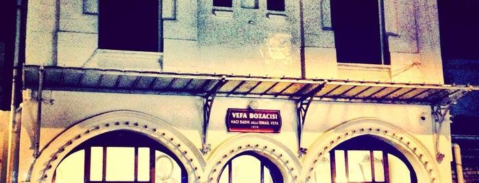 Vefa Bozacısı is one of istanbul.