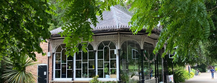 Aviary Cafe is one of Leamington Spa UK.