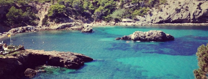 Cala Xarraca is one of Ibiza EDM Summer.