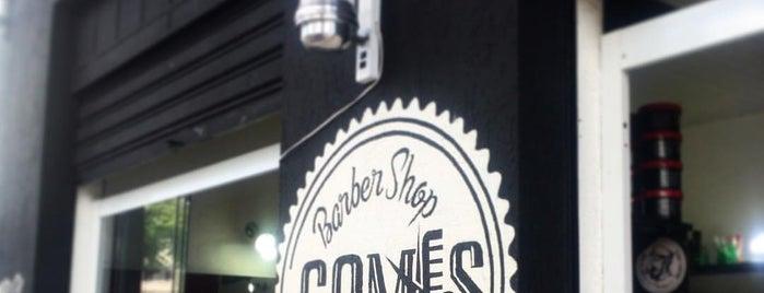 Gomes Barber Shop is one of Tempat yang Disukai Jose Aristeu.