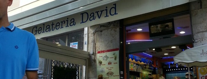Gelateria David is one of Southern Italy.
