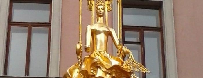 Фонтан «Принцесса Турандот» is one of สถานที่ที่ Julia ถูกใจ.