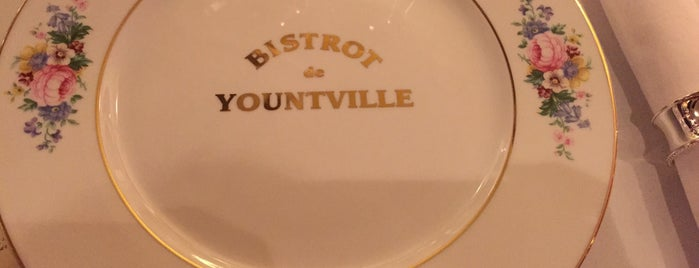 BISTROT de YOUNTVILLE is one of Resto Seoul.