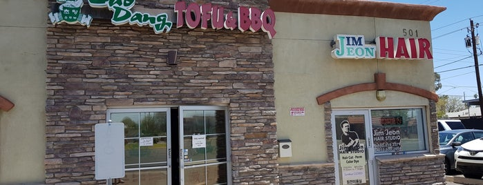 Chodang Tofu & BBQ is one of Lugares favoritos de Doug.