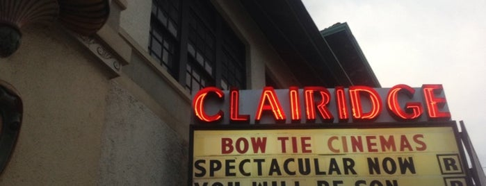 Bow Tie Clairidge Cinema is one of Places to Explore.