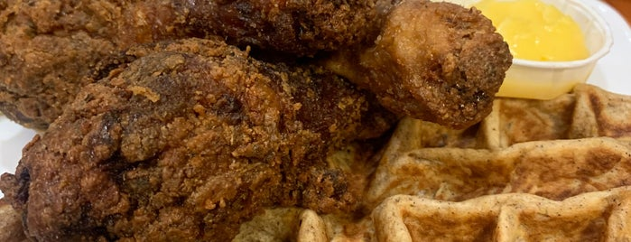 Dame's Chicken & Waffles is one of RTP.