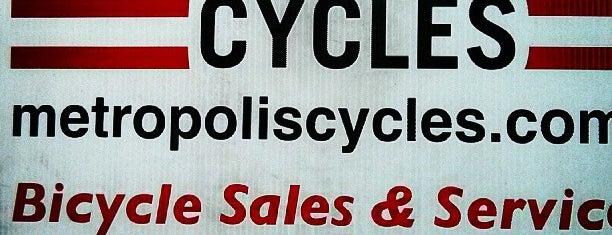 Metropolis Cycle Repair is one of Portland.