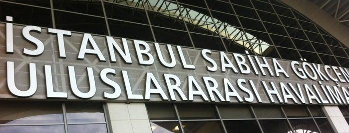 İstanbul Sabiha Gökçen Uluslararası Havalimanı (SAW) is one of Airports in Turkey.