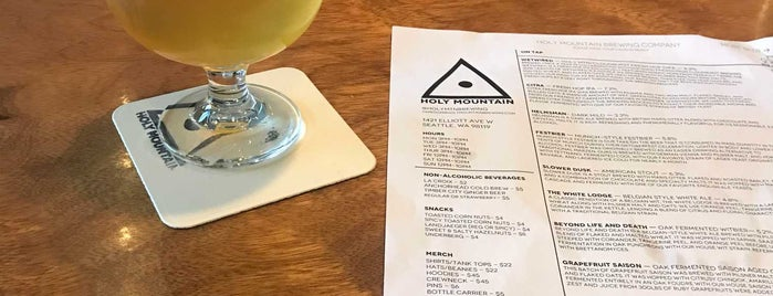 Holy Mountain Brewing Company is one of Locais salvos de Logan.