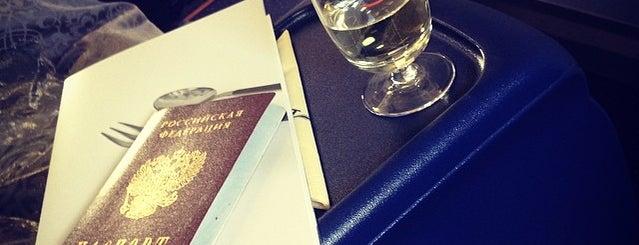Sheremetyevo International Airport (SVO) is one of Posti che sono piaciuti a Maria.