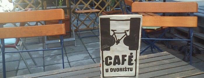 Café u dvorištu is one of Zagreb's to-do list.