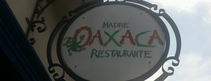 Madre Oaxaca is one of Lugares favoritos de Santiago.