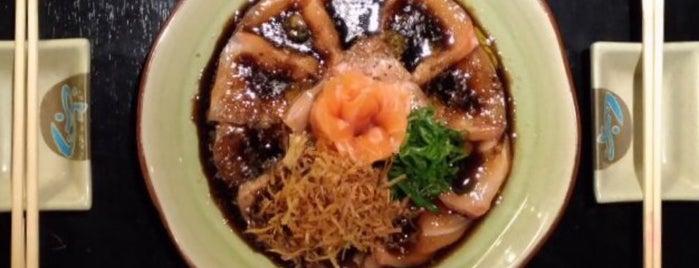 Tomihama Sushi is one of Lieux qui ont plu à Gabi.