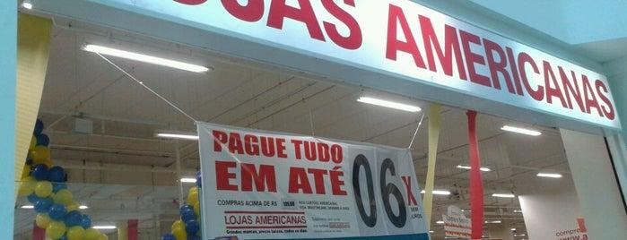 Lojas Americanas is one of Locais curtidos por Paulo.