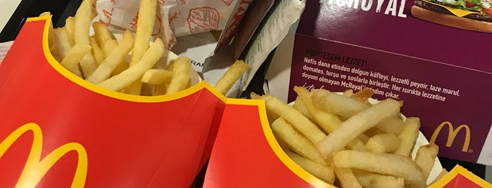 McDonald's is one of Sim : понравившиеся места.