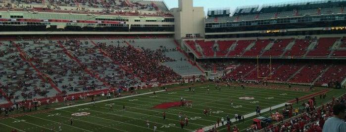 Donald W Reynolds Razorback Stadium is one of SEC Football.